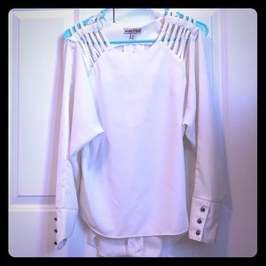 Altar'd state white shirt; casual/sophisticated